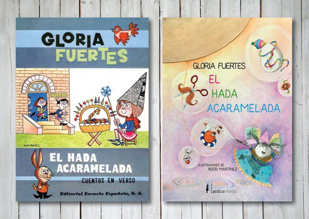 El hada acaramelada de la editorial Escuela Española y El hada acaramelada de la editorial Nórdica Infantil