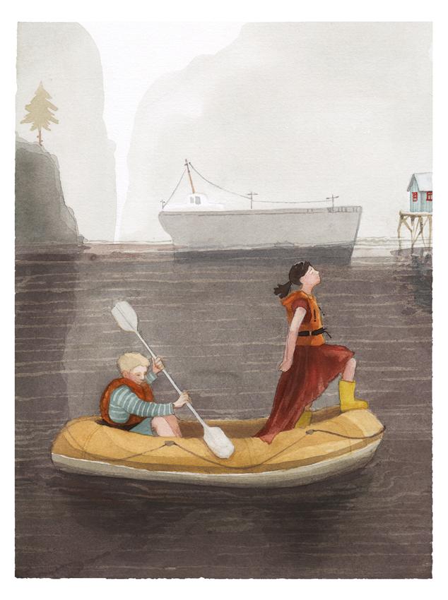 Ilustraciones de Zuzanna Celej